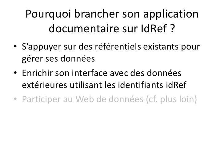 IdRef<br />Un Web Service de recherche<br />Ouverture officielle<br />en juillet 2011<br />