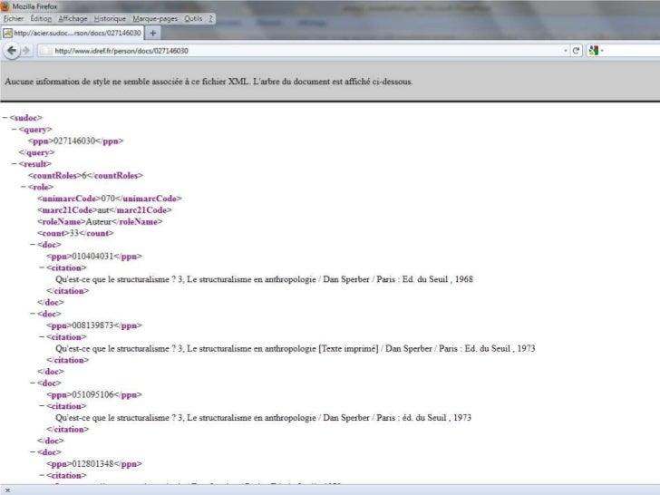 IdRef<br />De chouettes (cool) URL et des données brutes<br />