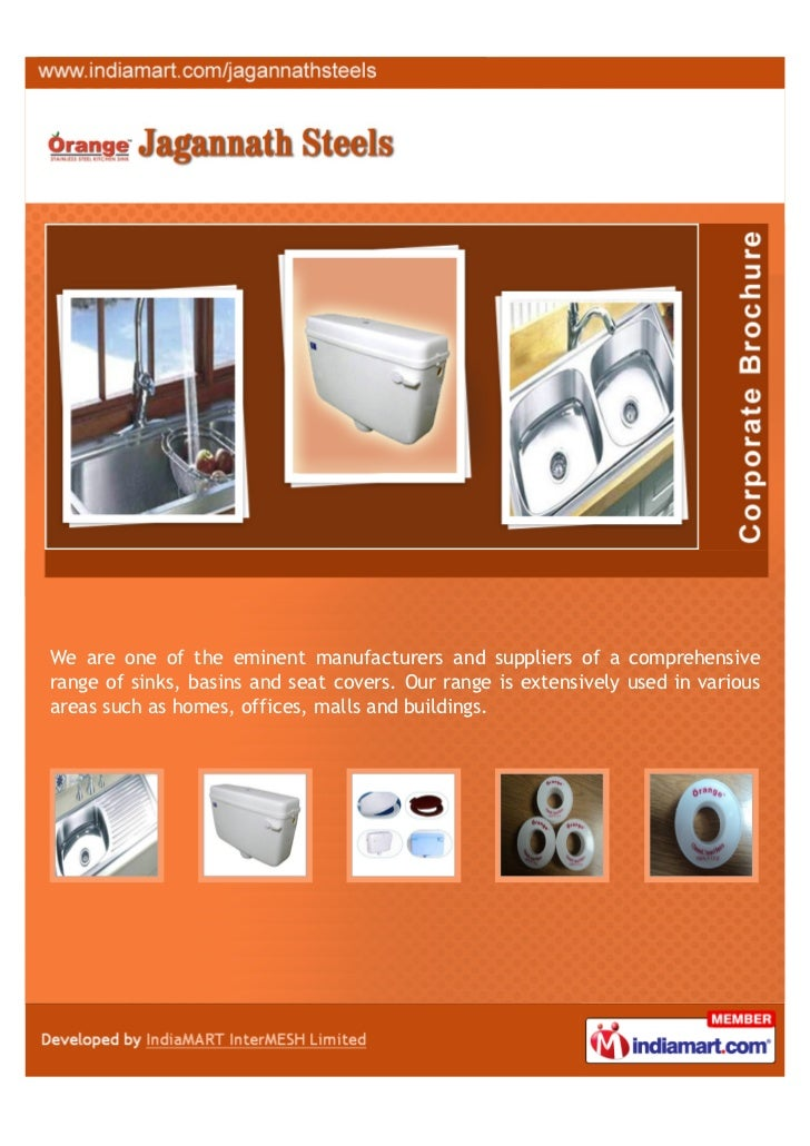 We are one of the eminent manufacturers and suppliers of a comprehensiverange of sinks, basins and seat covers. Our range ...