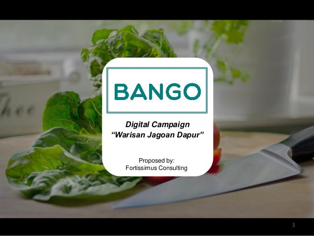 Jagoan Kuliner Bango Marketing Plan