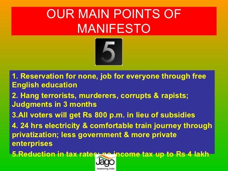 Awakening India - Jago Party Slide 2