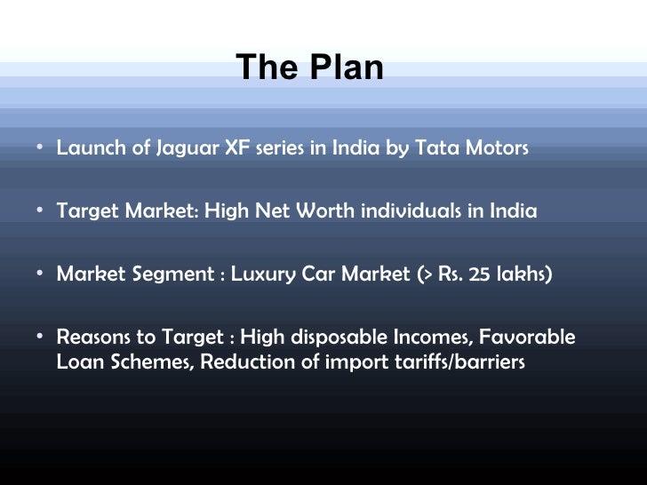 Jaguar India Launch Plan - Unique product launch presentation ppt scheme