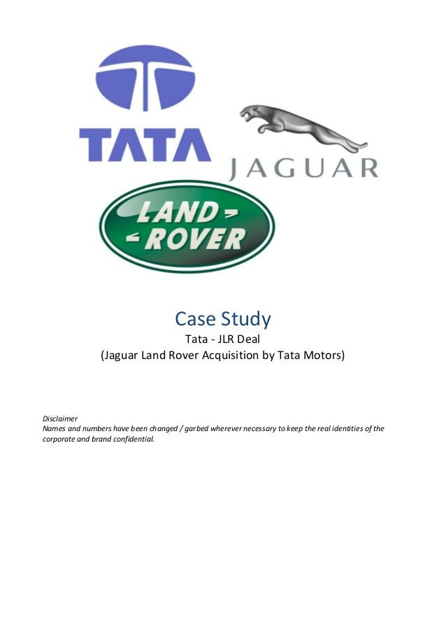 case study tata motors acquisition of jlr