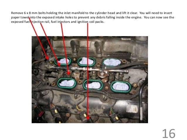 Jaguar s type v6 inlet manifold