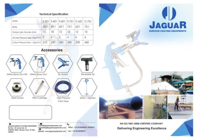 Jaguar Surface Coating Equipments, Pune, Surface Coating & Spray Painting Equipments