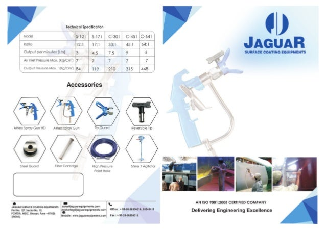 Jaguar Surface Coating Equipments, Pune, Surface Coating & Spray Painting Equipments Slide 3