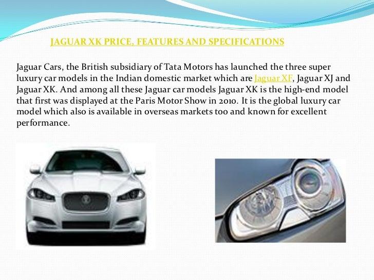 Jaguar Cars Xk Price In India