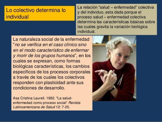 """6. Necesidad de un cambio epistemológico en relación al objeto """"salud""""  La epistemología constituye una herramienta crític..."""