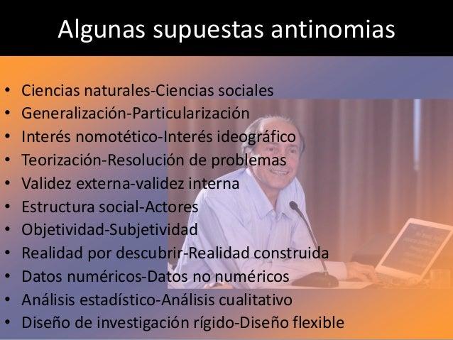7. La matriz transdisciplinaria de una epidemiología sociocultural • Posibilidad de integrar este cúmulo de conocimientos ...