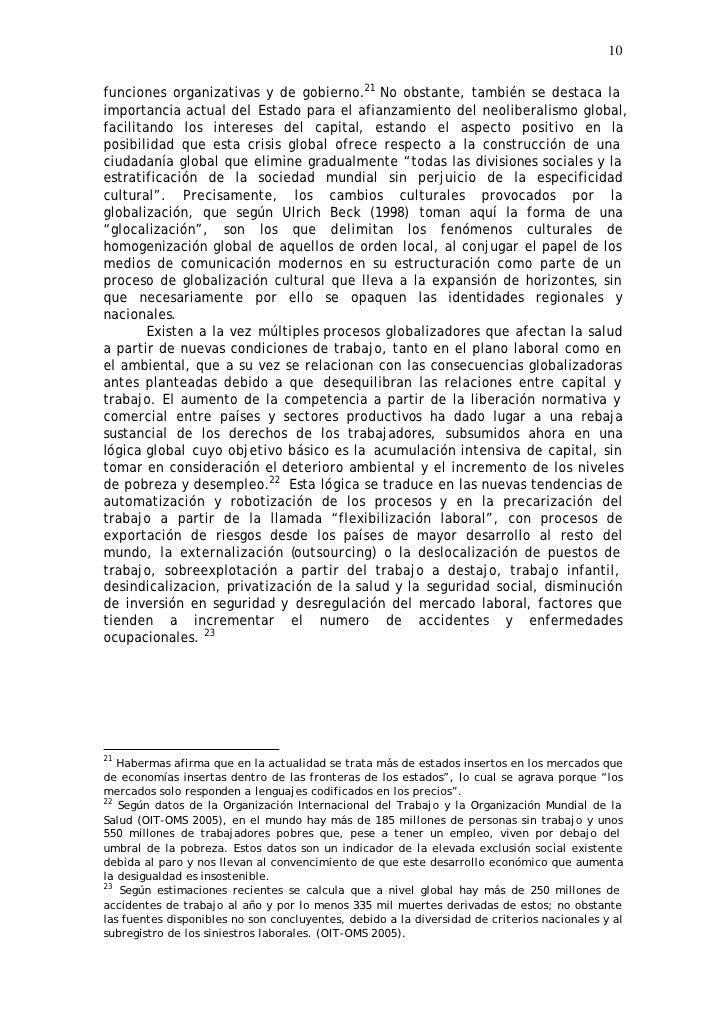 10  funciones organizativas y de gobierno.21 No obstante, también se destaca la importancia actual del Estado para el afia...