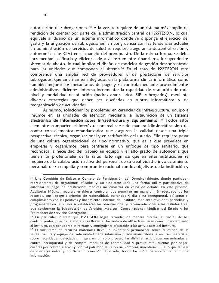 16        autorización de subrogaciones. 35 A la vez, se requiere de un sistema más amplio derendición de cuentas por pa...