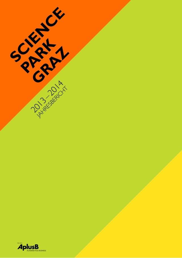 1  Science  Park  Graz  2013 – 2014