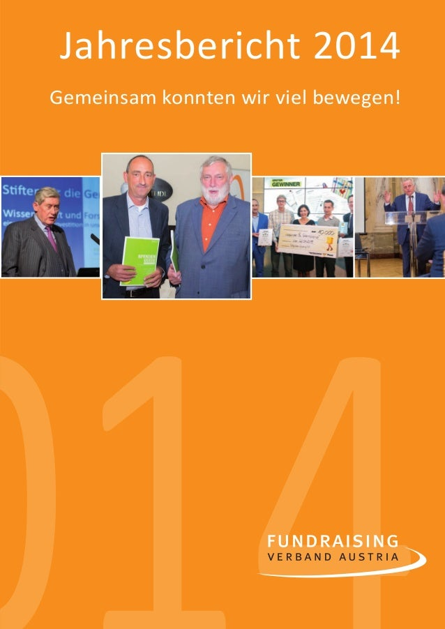 1 00140 Jahresbericht 2014 Gemeinsam konnten wir viel bewegen! jahresbericht_2014_sic1.indd 1 20.03.15 17:10