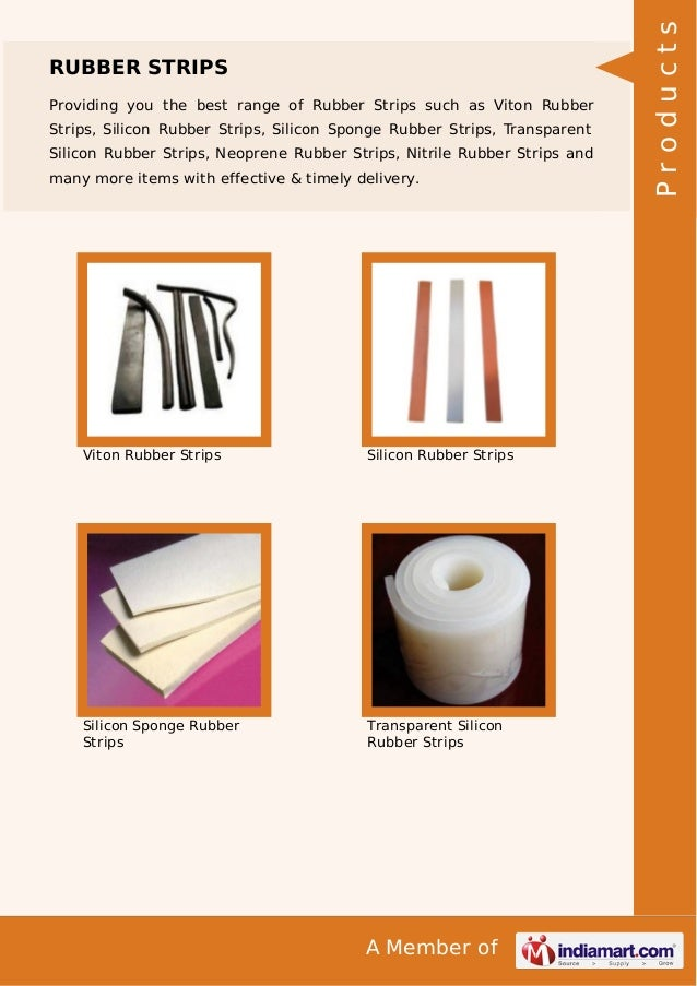 Providing you the best range of Rubber Strips such as Viton Rubber Strips, Silicon Rubber Strips, Silicon Sponge Rubber St...