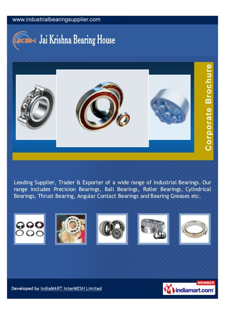 Leading Supplier, Trader & Exporter of a wide range of Industrial Bearings. Ourrange includes Precision Bearings, Ball Bea...