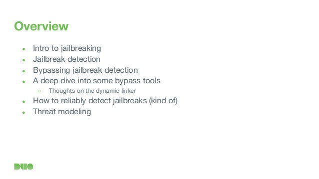 Jailbreak Detector Detector
