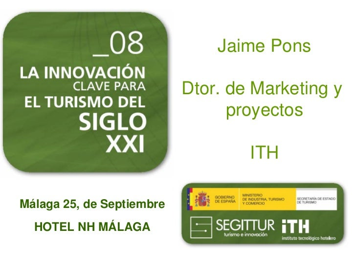 Jaime Pons                             Dtor. de Marketing y                                  proyectos                    ...