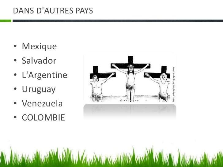 DANS D'AUTRES PAYS<br />Mexique<br />Salvador<br />L'Argentine<br />Uruguay<br />Venezuela<br />COLOMBIE<br />