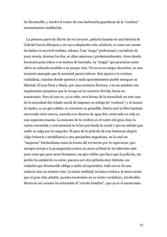 Jaime Humberto Hermosillo Dossier Cine