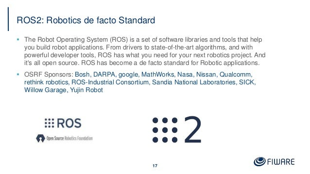 ROS2: Robotics de facto Standard  The Robot Operating System (ROS) is a set of software libraries and tools that help you...