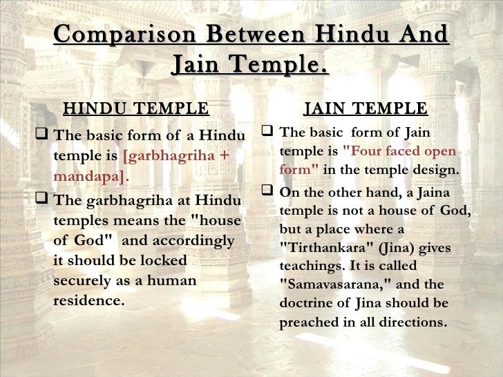 differences between hinduism and jainism Jainism, buddhism, and hinduism jainism, buddhism, and hinduism, three of the world's most dynamic and ancient religions developed in india around the same time though each borrowed from, evolved because of, or came into conflict with each other: hinduism , buddhism, and jainism are more than religions, but cross-sections of an entire.