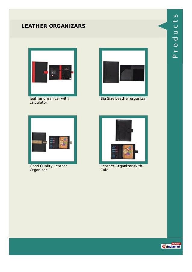 LEATHER ORGANIZARS leather organizar with calculator Big Size Leather organizar Good Quality Leather Organizer Leather-Org...