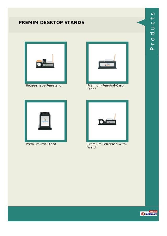 PREMIM DESKTOP STANDS House-shape-Pen-stand Premium-Pen-And-Card- Stand Premium-Pen-Stand Premium-Pen-stand-With- Watch Pr...