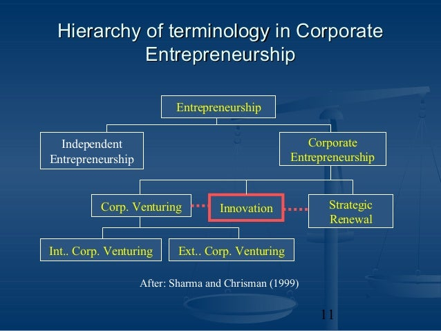corporate entrepreneurship 3 essay The importance of entrepreneurship essay corporate entrepreneurship corporate entrepreneurship can the importance of entrepreneurship.