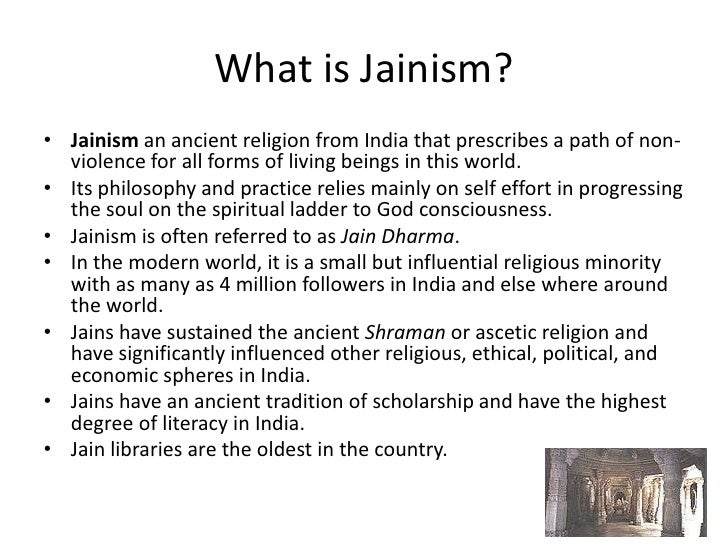 essay on jainism religion Jainism vs sikhism essay jainism is the oldest known religion in india being most recently traced back to its latest tirthankara or prophet, mahavira.