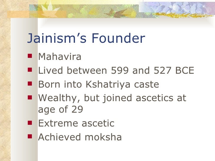 comparisons and contrast of jainism and Essay jainism - jainism is one of the oldest religions and was founded in the sixth century b c e in india vardhamana, known to his followers as mahavira is.