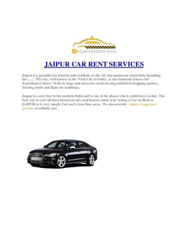 Jaipur Car Hire Services