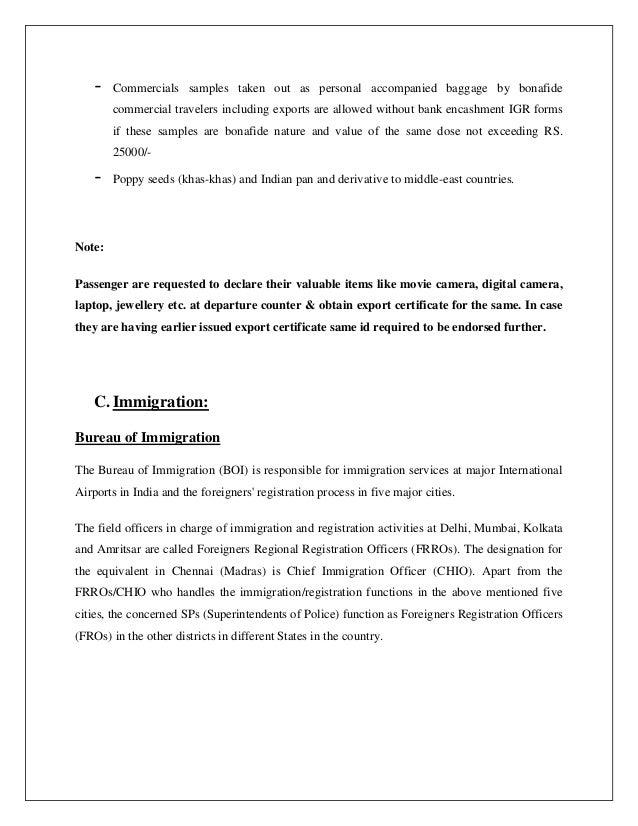 Jaipur report