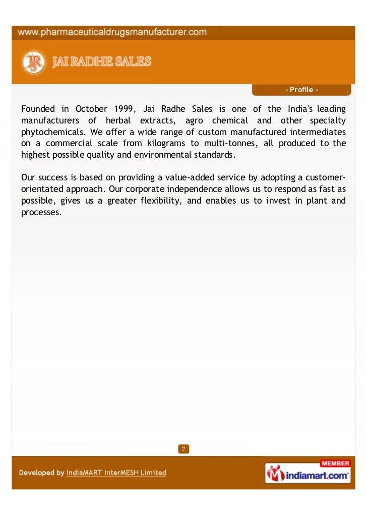 Jai Radhe Sales, Ahmedabad, 5-cyano indole Slide 2