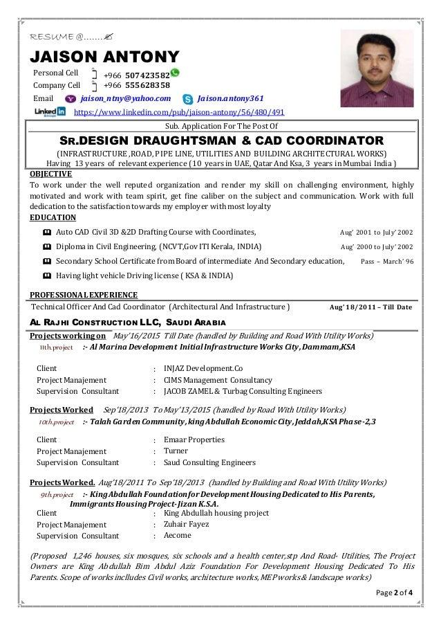 cad engineer cv exle learnist org professional resume