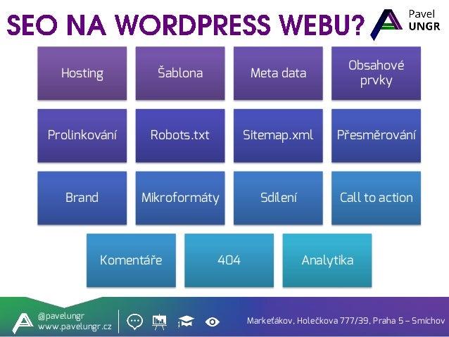 Jak na SEO ve Wordpressu Slide 2