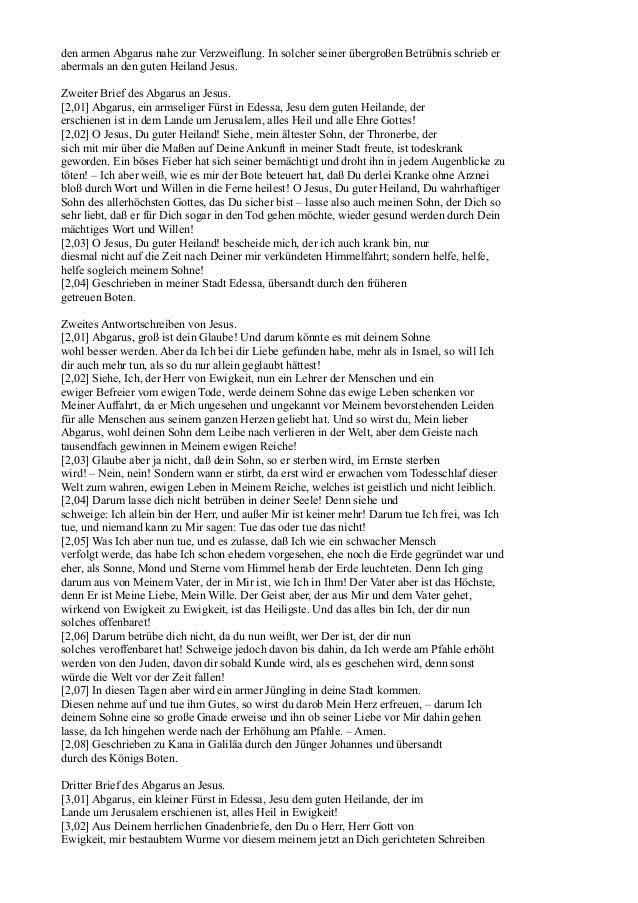 Briefwechsel Jesu (Jakob Lorber) Slide 2