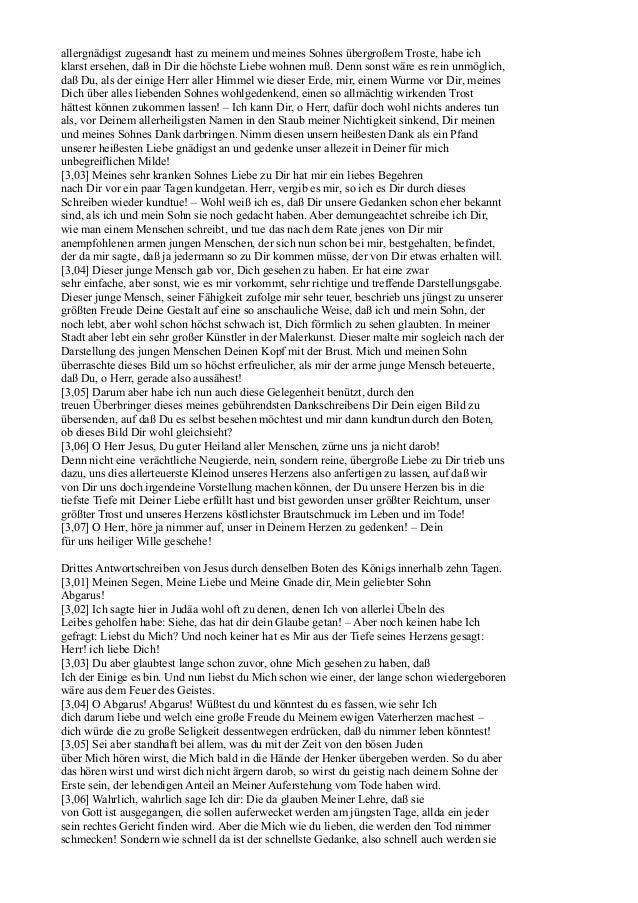 Briefwechsel Jesu (Jakob Lorber) Slide 3