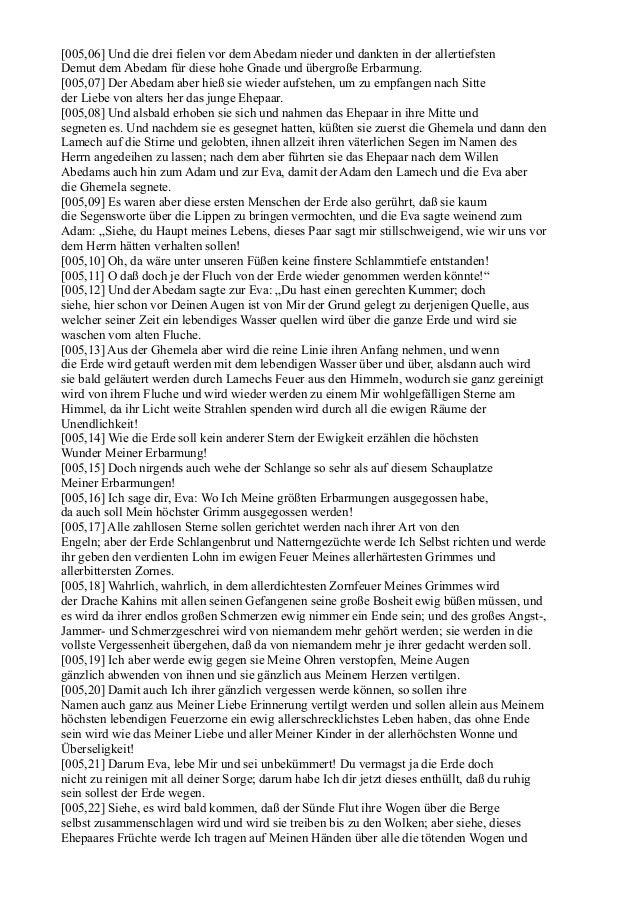 [005,06] Und die drei fielen vor dem Abedam nieder und dankten in der allertiefstenDemut dem Abedam für diese hohe Gnade u...