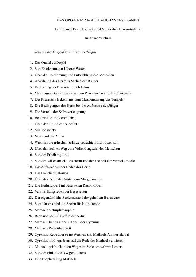 DAS GROSSE EVANGELIUM JOHANNES - BAND 3                 Lehren und Taten Jesu während Seiner drei Lehramts-Jahre          ...