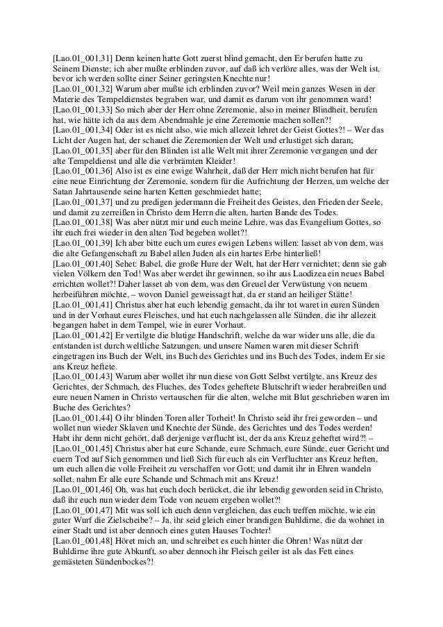 PAULUS Brief an die Gemeinde in Laodizea (Jakob Lorber) Slide 3