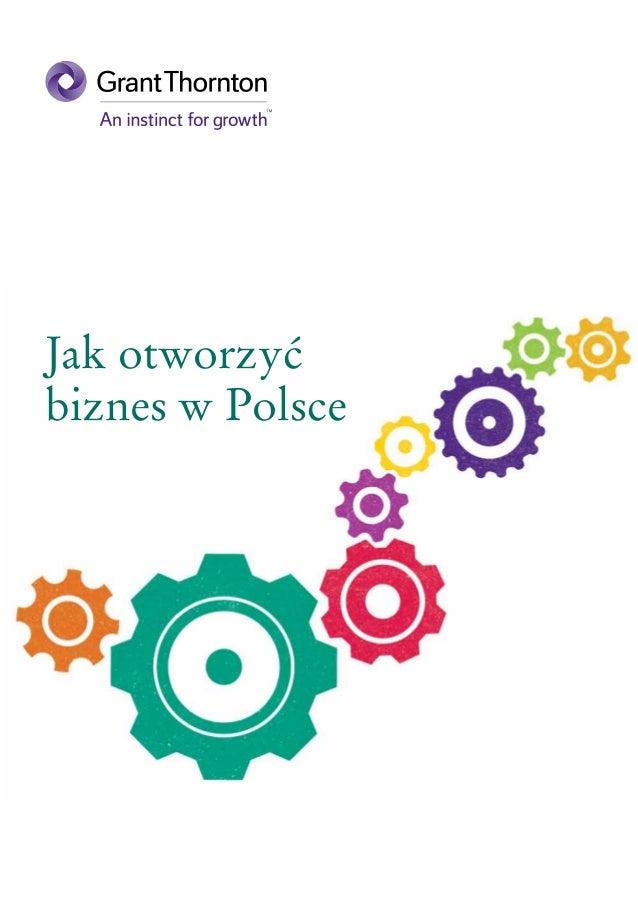 Jak otworzyć biznes w Polsce