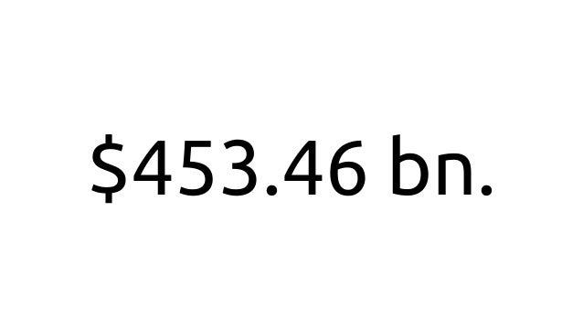 $453.46 bn.