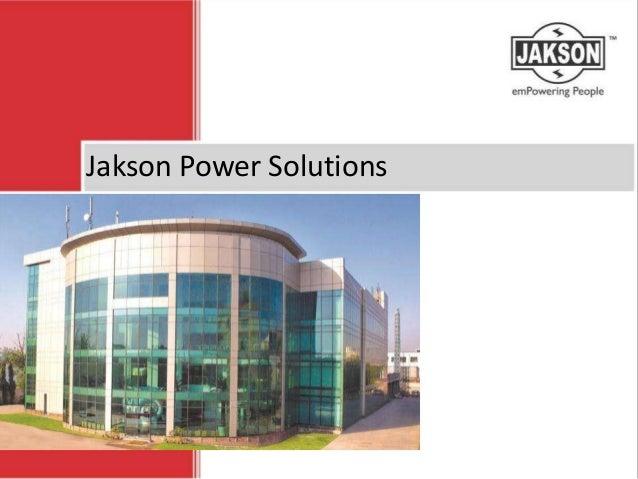 Jakson Power Solutions