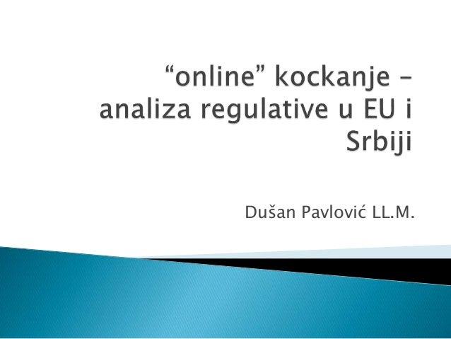 Dušan Pavlović LL.M.