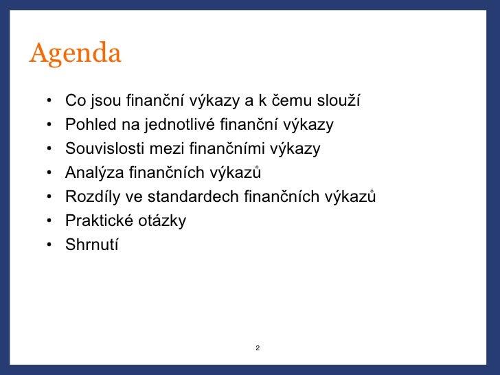 Jakub Křížek (Venture Investors) - Finanční abeceda Slide 2