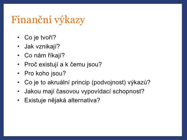 Jakub Křížek (Venture Investors) - Finanční abeceda Slide 3
