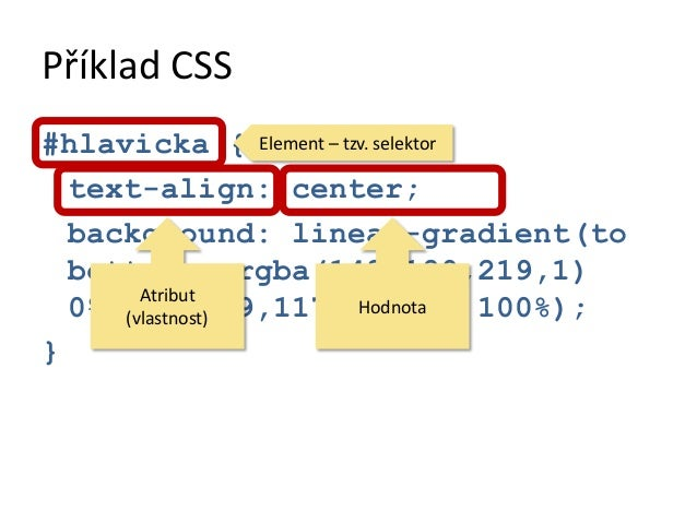 "Příklad JavaScript<script>var myEl =  document.getElementById(""telo"");myEl.onclick = function(event){  event.preventDefaul..."