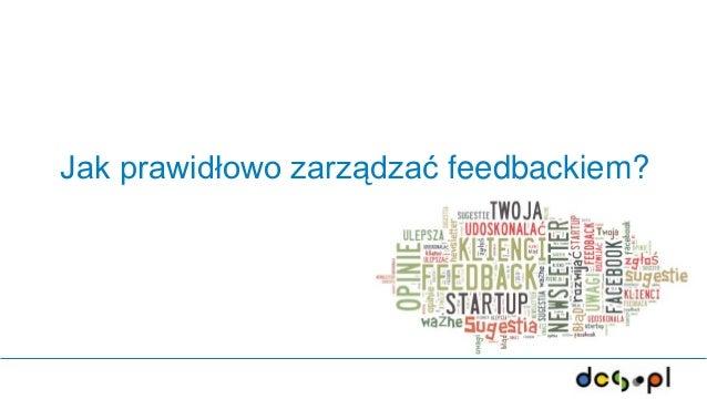 Jak prawidłowo zarządzać feedbackiem?