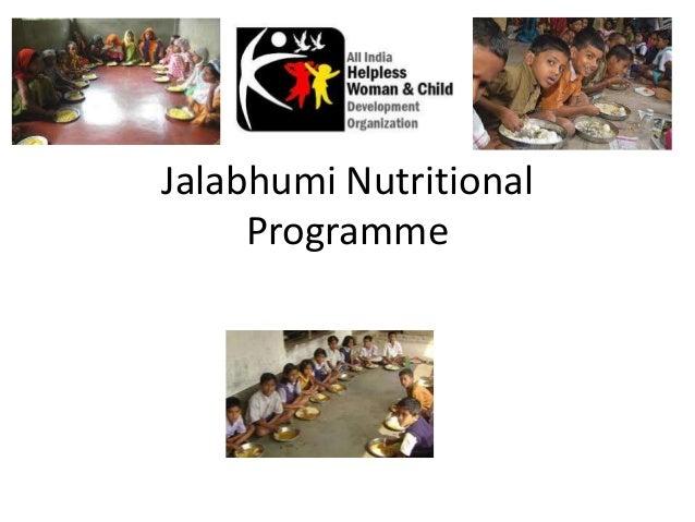 Jalabhumi Nutritional Programme