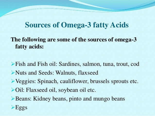 Omega -3 & Omega -6 Fatty acids and their Health Effects
